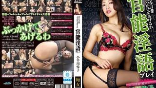 淫らな言葉ぶっかけてあげるわ 官能淫語プレイ 小早川怜子 DJSK-069