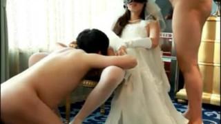 新娘与从伴郎