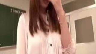 【芦名未帆】芦名未帆 教室で肉欲に乱れる女教師