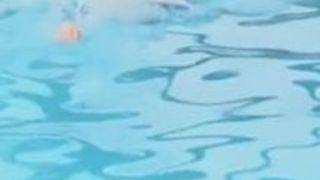 水着 エロい 競泳水着 インストラクター 競泳