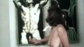 ジュリエット・アンダーソン、リサ・デ・レーウ、古典的なポルノ映画の中でリトルオーラルアニー
