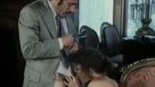 ヒラリー・サマーズ、京都日、ヴィンテージポルノ映画の中でLaurienドミニク