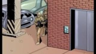 2Dのコミック:Cyberian国家。エピソード4