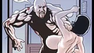 2Dのコミック:Cyberian国家。第7話