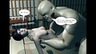 3Dコミック:忍者スクロール。エピソード1-3