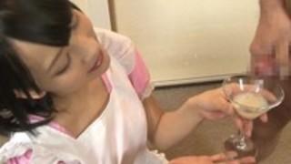 【あべみかこごっくん】ロリの美少女、あべみかこのごっくんプレイ動画!!