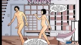 2Dのコミック:Cyberian国家。エピソード5
