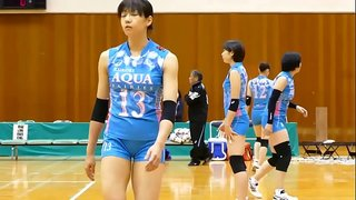 吉川ひかる選手 KUROBEアクアフェアリーズ 2016年11月26日